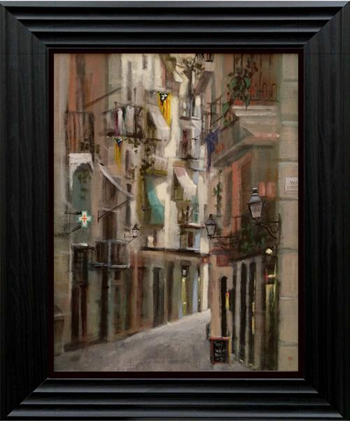 The Streets of Barcelona by Alan  Harris