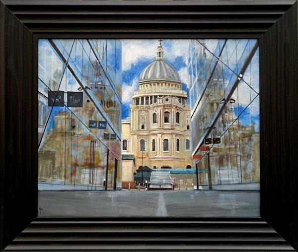 Reflections of St. Paul's  by Alan  Harris