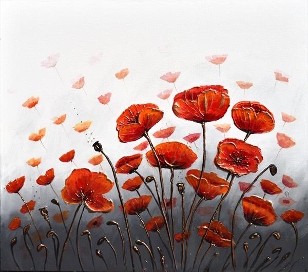 The Dance of the Poppies by Amanda Dagg