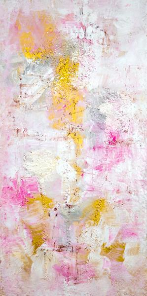 Gold on Pink by Davina Nicholas
