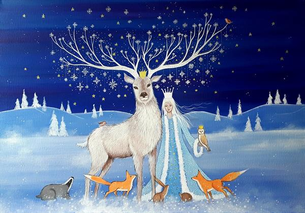 The Arrival of Winter by Angie Livingstone