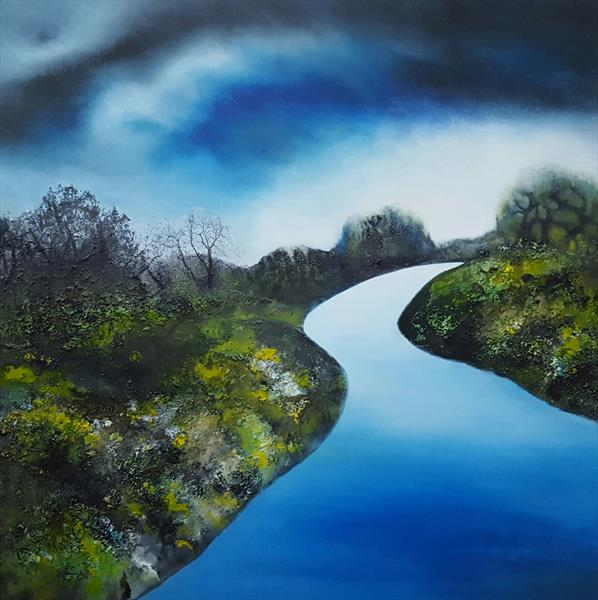 Blue River by Isabelle Amante