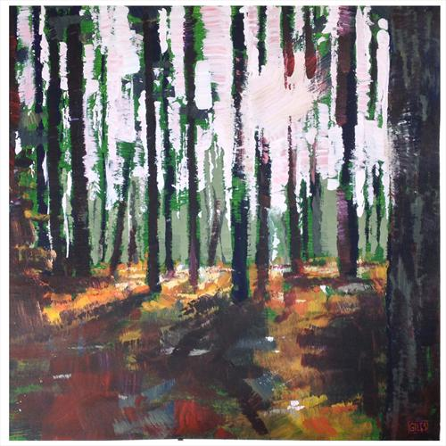 Woodland Light by Chris Giles