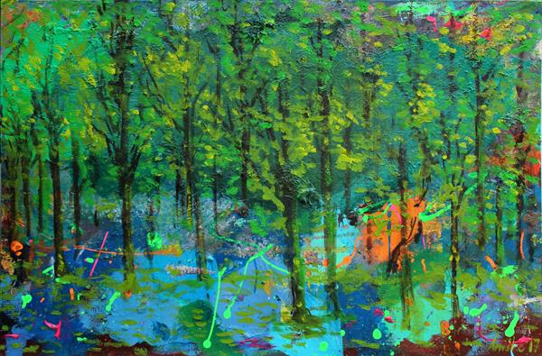 Abstract Forest by M K Anisko