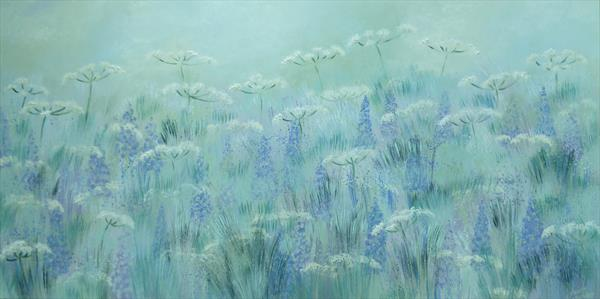 Cow Parsley Meadow by Elaine Allender