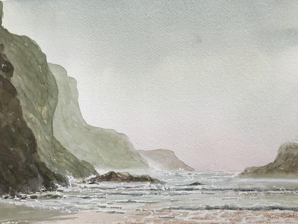 Bedruthan Steps by Peter Blake