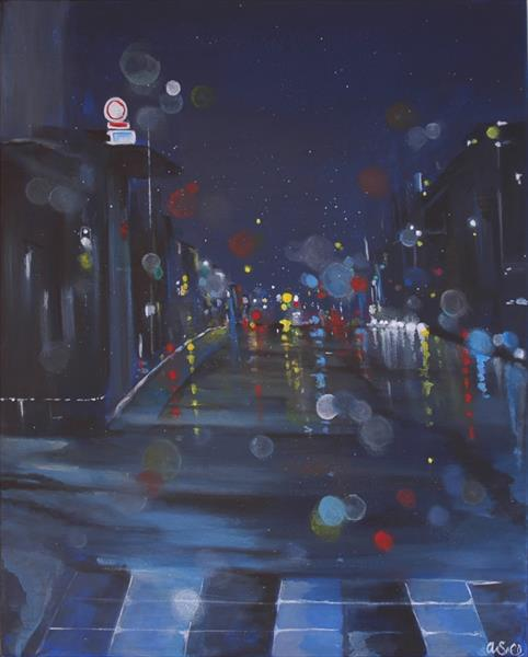 Night City Lights by Andrew Snee