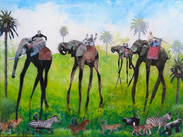 Dali Safari by John Pimlott