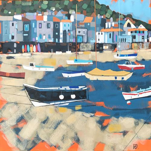 Mousehole Beach by Emma Dashwood