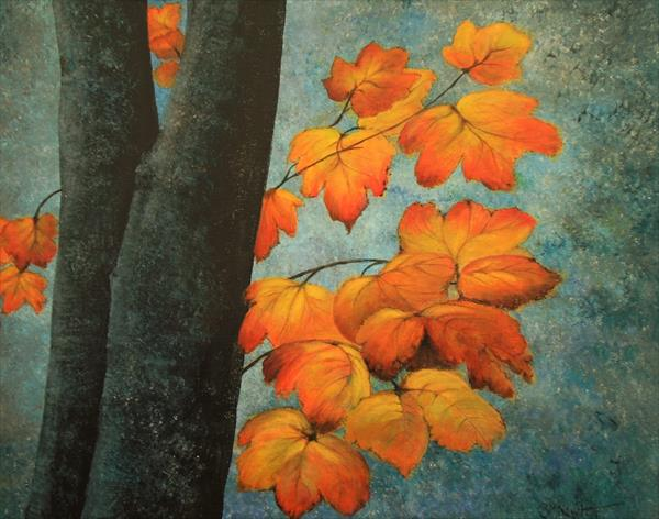 Autumn Leaves by Brenda Newton