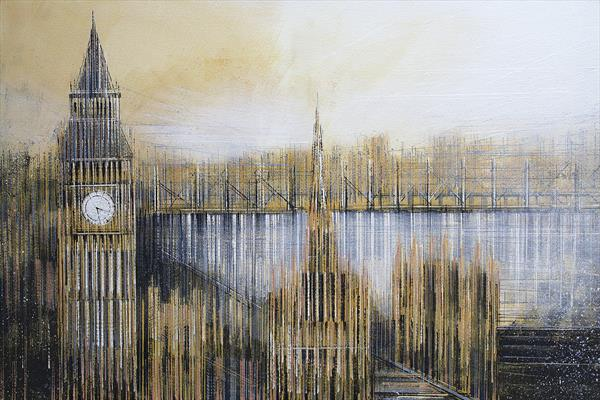 London. Westminster At Sunset by Marc Todd