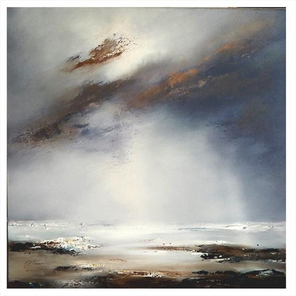 Tranquil storm by Olena Topliss
