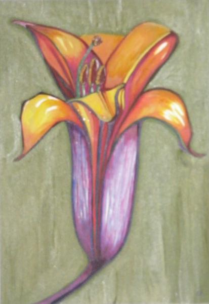 Asiatic Lily by Mary Mcevoy