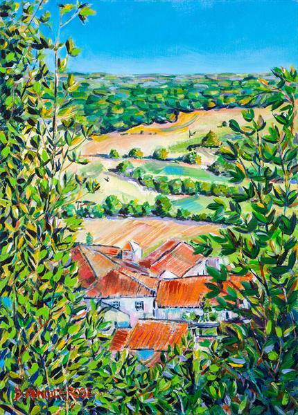 LOT VALLEY VIEW by Diana Aungier - Rose