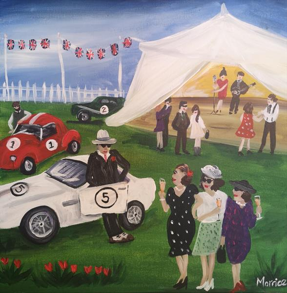 I'd rather be at Goodwood by cheryl Morrice