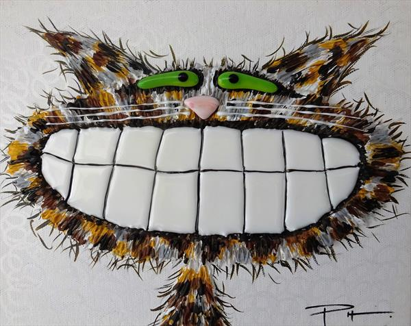 Brown Tabby Cat 13 by Paula Horsley