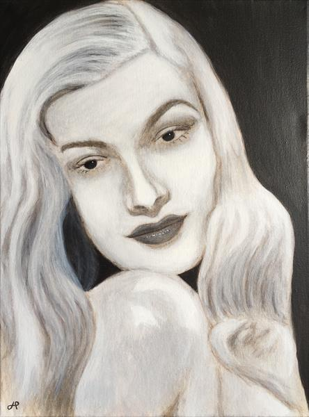 Veronica Lake by John Prince