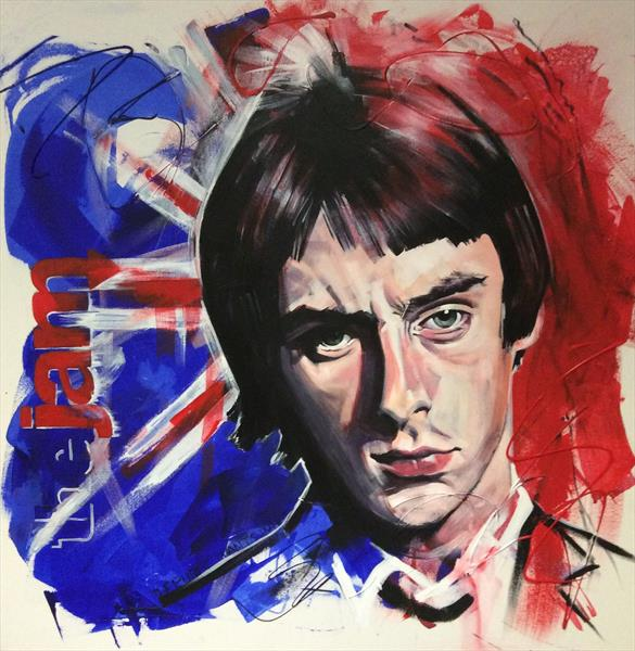 paul weller the jam by sharon coles