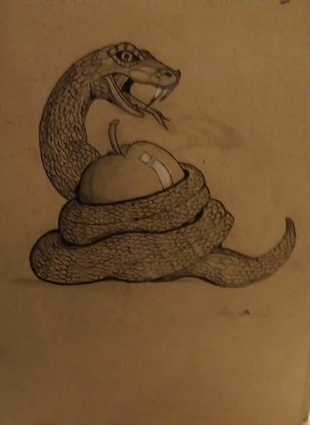 Eve's Snake by Laura Durrant