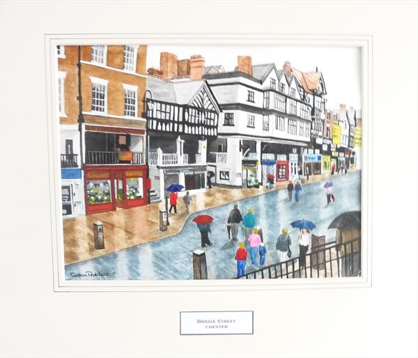 Bridge Street, Chester by Susan Prothero