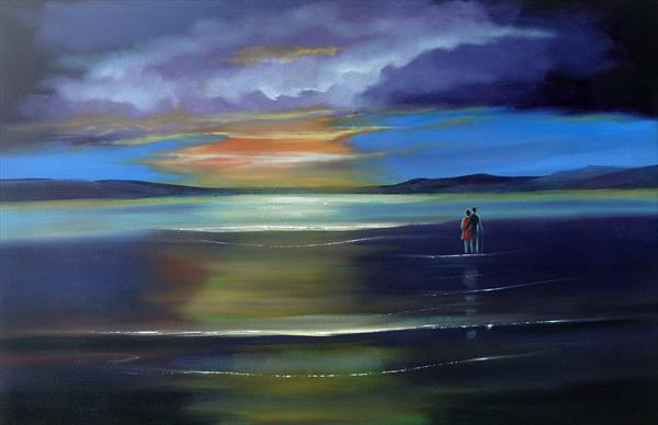 our evening coastal dream by Terry Wylde