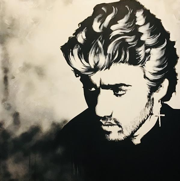 George Michael by sharon coles