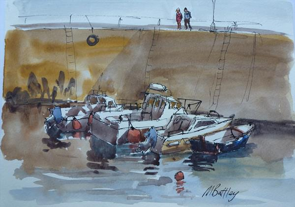 Summer evening at Mutton Cove by michael battley