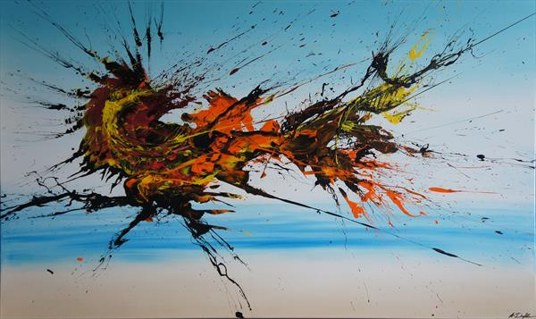 AR-15 (Spirits Of Skies 135042) - 150 x 90 cm - XXL (60 x 36 inches)