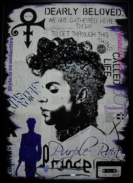 Prince - Purple Rain  by George  Stir