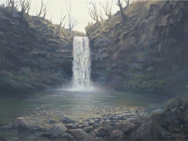 Henrhyd Falls by Richard Picton