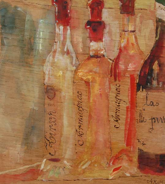 Liqueur Bottles by Alison Mayor