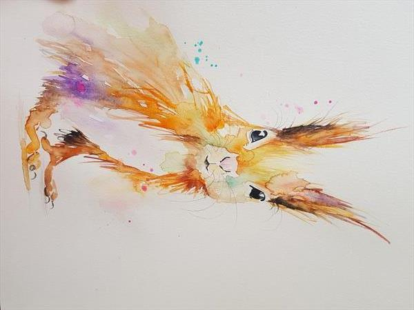 Red squirrel by Eleanor SMITH