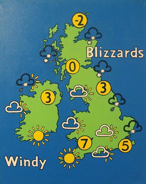 Weather Map by Gareth Cairns