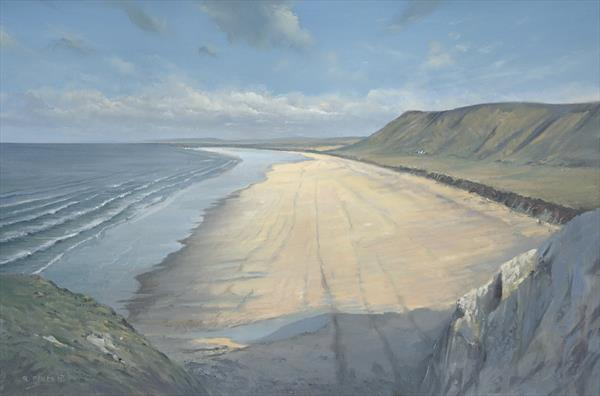 Rhossili Bay by Richard Picton