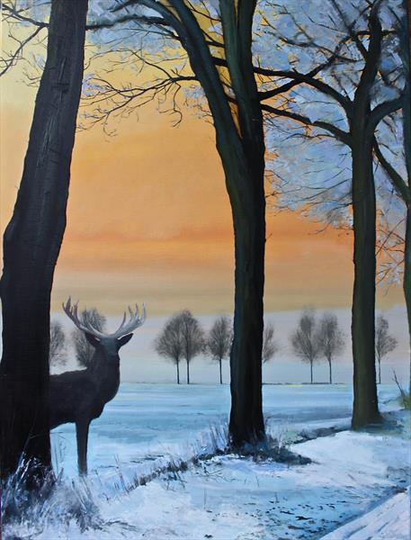 The Snow Deer by Simon Jones
