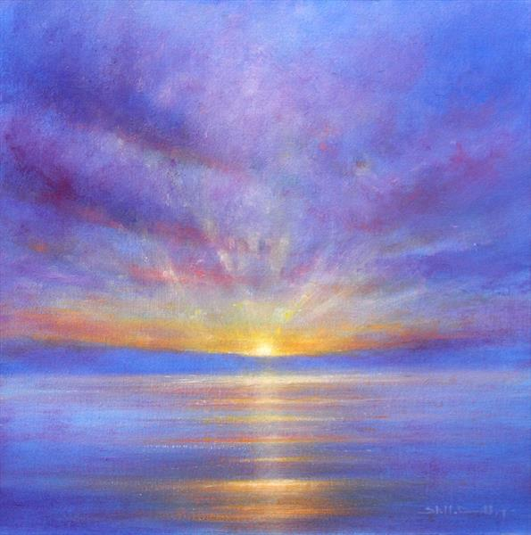 Tranquil Sunset by Stella Dunkley