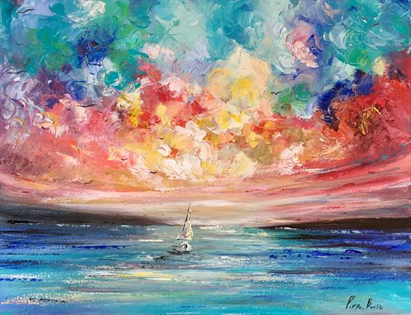Atmosphere of the sail by Pippa Buist