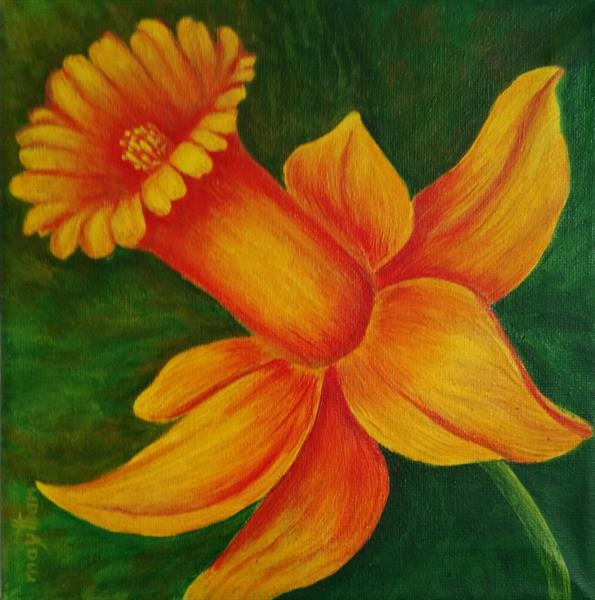 Daffodil by may than