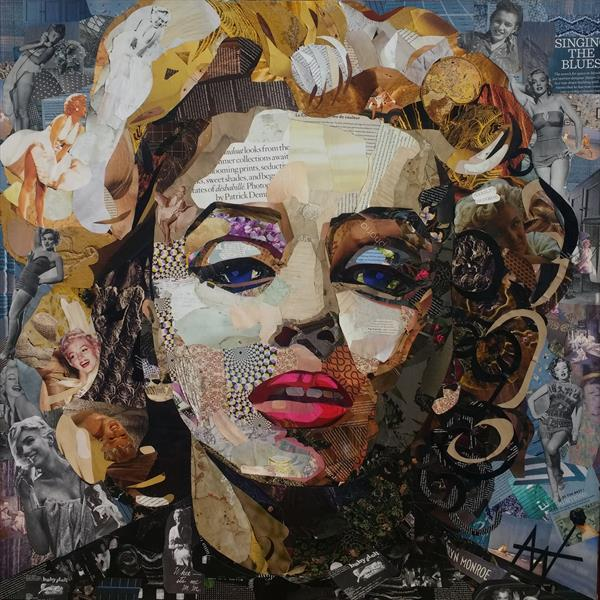 See Me - Marilyn by Angie Wright