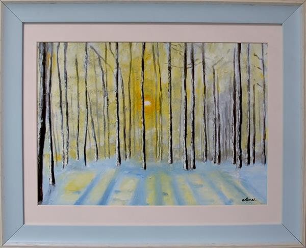 Winter Forest Sunrise by Andrew Snee
