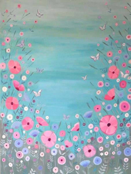 Sea Floral by Mary Stubberfield