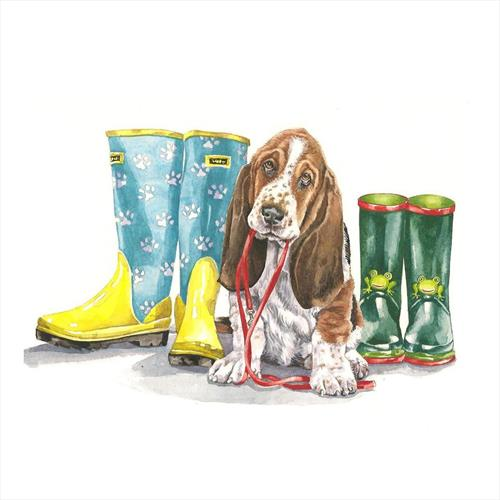 Puppy and Boots by Zoe Elizabeth Norman