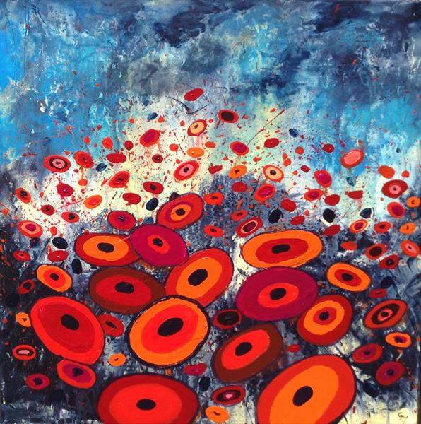 Wacky Poppies by Gill Masters