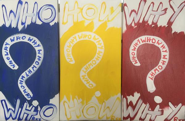 Who How Why by Richard Popitti