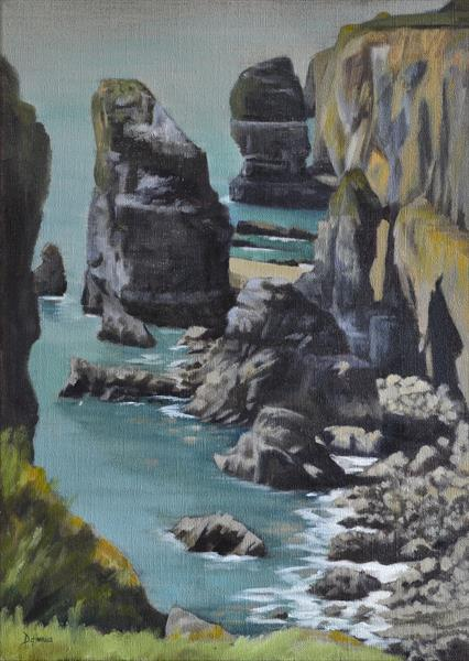 Stack Rocks (Elegug Stacks) by Dawn Harries