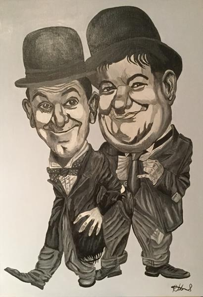 Laurel & Hardy  by Peter Lord