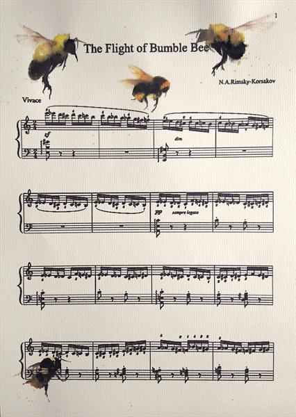 Flight of the Bumble Bees by Teresa Tanner
