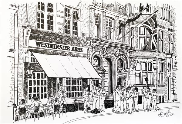 Westminster Arms - London Pub Series by Polly O'donnell