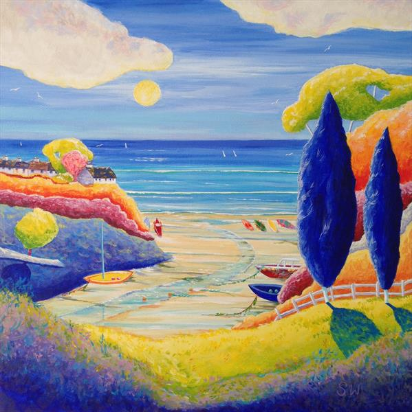 Pathway to the Sea by Suzie Wainman