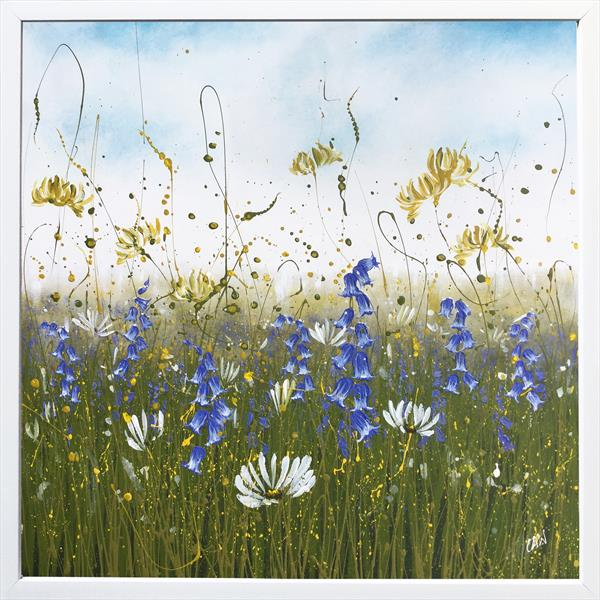 Pretty Flower Meadow by Beatrice   Cawood